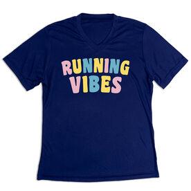 Women's Short Sleeve Tech Tee - Running Vibes
