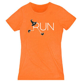 Women's Everyday Runners Tee - Let's Run For Halloween