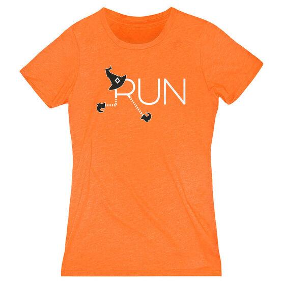 Women's Everyday Runners Tee - Let's Run For Halloween