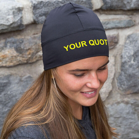 Run Technology Beanie Performance Hat - Your Quote