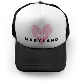 Running Trucker Hat Run Maryland