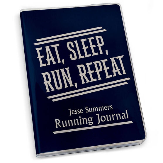 GoneForaRun Running Journal Eat Sleep Run Repeat