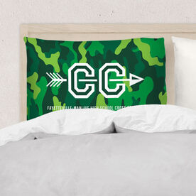 Cross Country Pillowcase - With Arrows