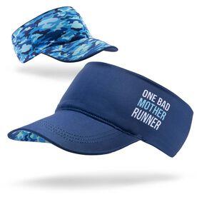 Running Comfort Performance Visor - One Bad Mother Runner