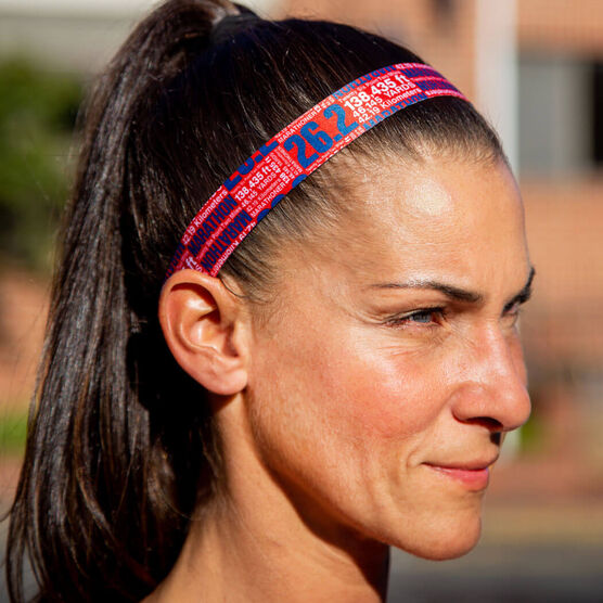 Running Julibands No-Slip Headbands - 26.2 Math Miles