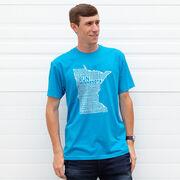 Running Short Sleeve T-Shirt - Minnesota State Runner