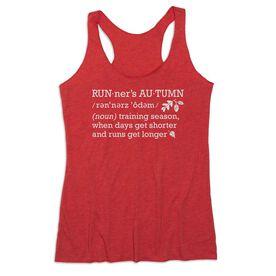 Women's Everyday Tank Top - Runner's Autumn Definition