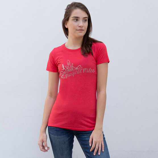 Women's Everyday Tee Magical Miles Glitter