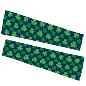 Printed Arm Sleeves - Clovers