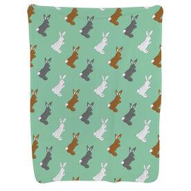 Baby Blanket - Rabbit Pattern