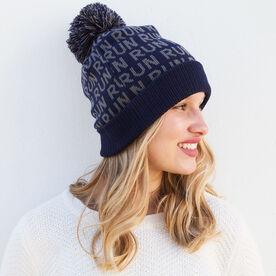 Running Knit Hat - Run Repeat