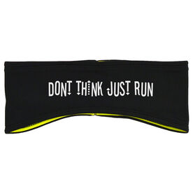 Running Reversible Performance Headband Don't Think Just Run