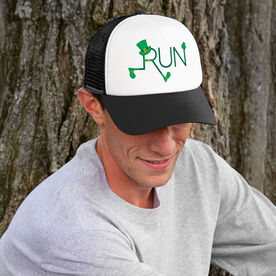 Running Trucker Hat - Let's Run Lucky