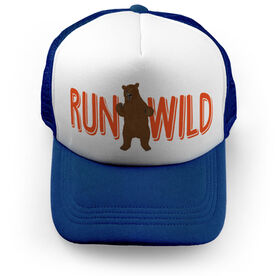 Running Trucker Hat Run Wild Bear