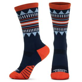 Socrates® Mid-Calf Performance Socks - Strong & Courageous