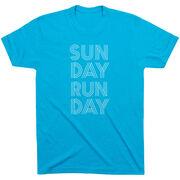 Running Short Sleeve T-Shirt - Sunday Runday (Stacked)