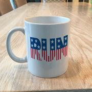 Running Coffee Mug - Run Patriotic
