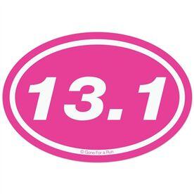 13.1 Half Marathon Decal (Pink)