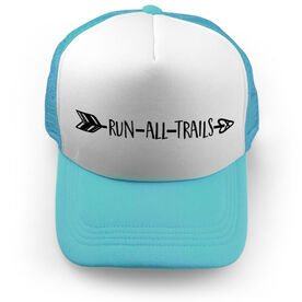 Running Trucker Hat - Run All Trails