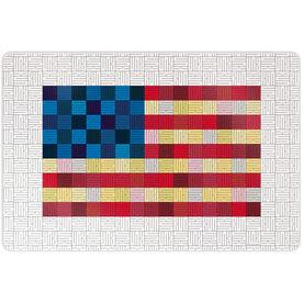 """Running 18"""" X 12"""" Wall Art - Run Flag"""