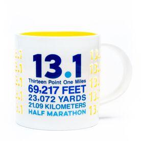 Soleil Home™ Running Porcelain Mug - 13.1 Math Miles