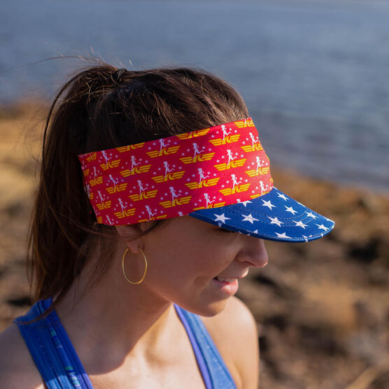 Running Comfort Performance Visor - Super Runner