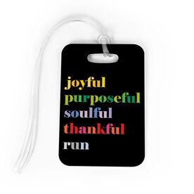 Running Bag/Luggage Tag - Run Mantra (Run)