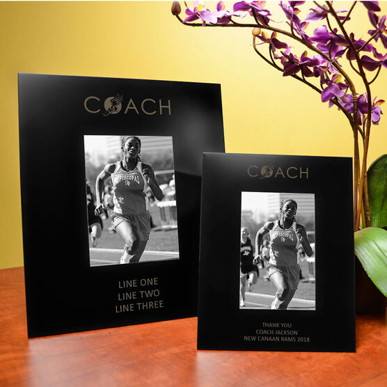 Track & Field Engraved Picture Frame - Coach | ChalkTalkSPORTS