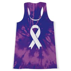 Women's Performance Tank Top - Ribbon Tie-Dye