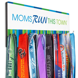 Running Hooked on Medals Hanger - Moms Run This Town
