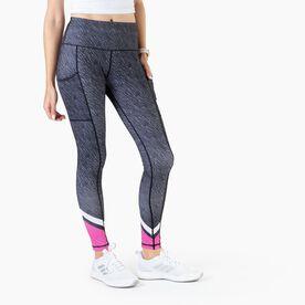 Women's Performance Side Pocket Tights - Wild & Free