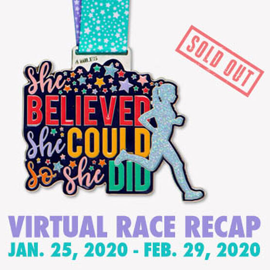 Virtual Race - She Believed She Could 4 Miler (2020)