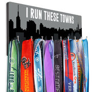Running Hooked on Medals Hanger - I Run These Towns