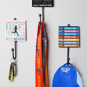 Running Medal Hook - Runner's Weekly Checklist (Dry Erase)