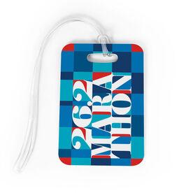 Running Bag/Luggage Tag - 26.2 Marathon Mosaic