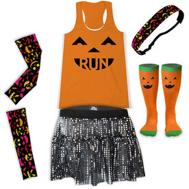 Pumpkin Run Running Outfit