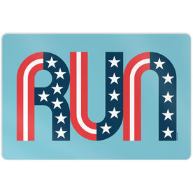 "Running 18"" X 12"" Aluminum Room Sign - Run Stars and Stripes"