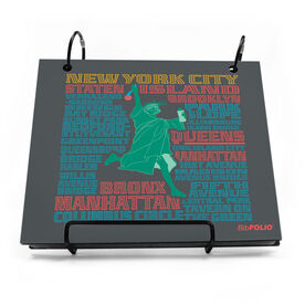 BibFOLIO® Race Bib Album - New York Statue of Liberty
