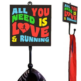 Running Medal Hook All You Need Is Love And Running