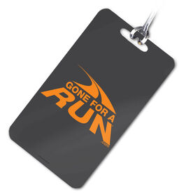 Running Bag/Luggage Tag Gone For A Run Logo