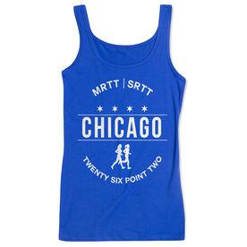 Women's Athletic Tank Top - Chicago 26.2 (MRTT/SRTT)