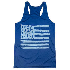Women's Racerback Performance Tank Top - United States of Runners