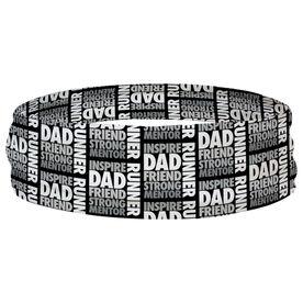 Running Multifunctional Headwear - Dad Runner Word RokBAND