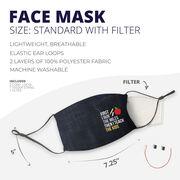 Running Face Mask - Then I Teach the Kids