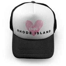 Running Trucker Hat Run Rhode Island