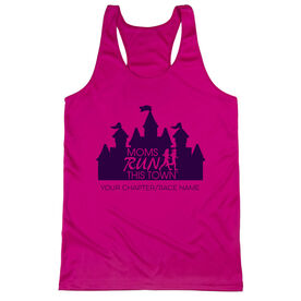 Women's Racerback Performance Tank Top - Moms Run This Town Magical Miles