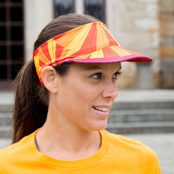 Running Comfort Performance Visor - Run Now Gobble Later