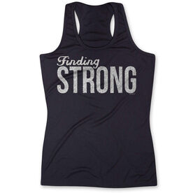 Women's Performance Tank Top Finding Strong