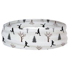 Running Multifunctional Headwear - Run Through The Trees Sketch RokBAND