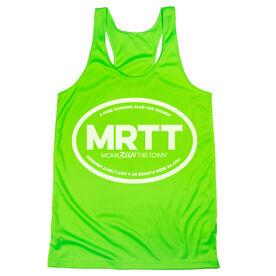 Women's Racerback Performance Tank Top - MRTT Flippin' Awesome